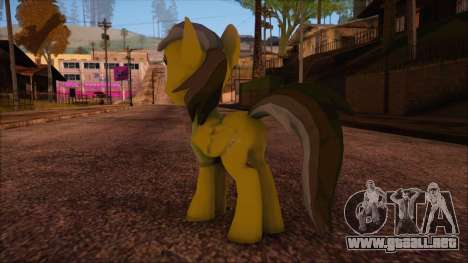 Daring Doo from My Little Pony para GTA San Andreas segunda pantalla