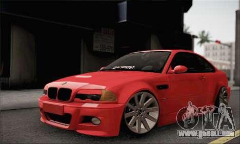 BMW M3 Coupe Tuned para GTA San Andreas