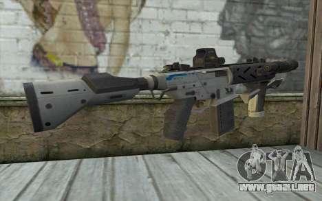 Peacekeeper from Call of Duty Black Ops II para GTA San Andreas segunda pantalla