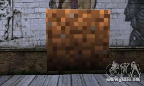 Bloque (Minecraft) v9 para GTA San Andreas