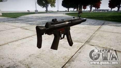Alemán subametralladora HK MP5SD3 para GTA 4 segundos de pantalla