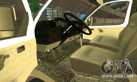 Gacela de Remolque 33023 v1.2 Beta para la visión correcta GTA San Andreas