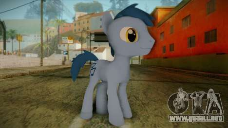 Noteworthy from My Little Pony para GTA San Andreas