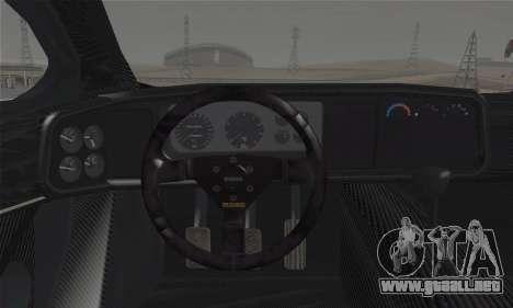 Jaguar XJ220S Ultimate Edition para GTA San Andreas vista posterior izquierda