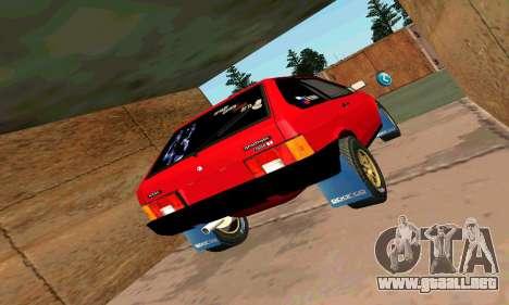 VAZ 2108 para la vista superior GTA San Andreas