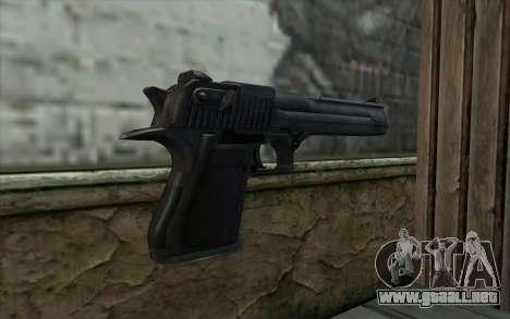 Desert Eagle Standart v1 para GTA San Andreas segunda pantalla