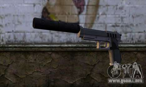 Silenced Pistol from GTA 5 para GTA San Andreas