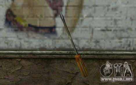 Destornillador (GTA Vice City) para GTA San Andreas