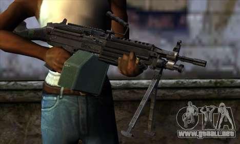 M249 v2 para GTA San Andreas tercera pantalla