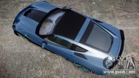 Chevrolet Corvette Z06 2015 TireMi1 para GTA 4 visión correcta