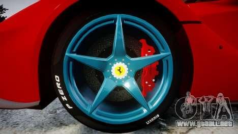 Ferrari LaFerrari 2014 [EPM] para GTA 4 vista hacia atrás