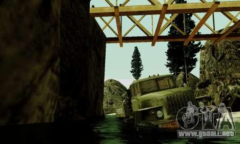 Pista de off-road 4.0 para GTA San Andreas octavo de pantalla