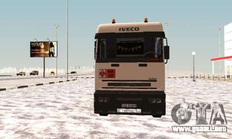 Iveco EuroTech Inflamables para GTA San Andreas left