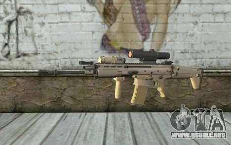 MK16 MK4CQ-T para GTA San Andreas