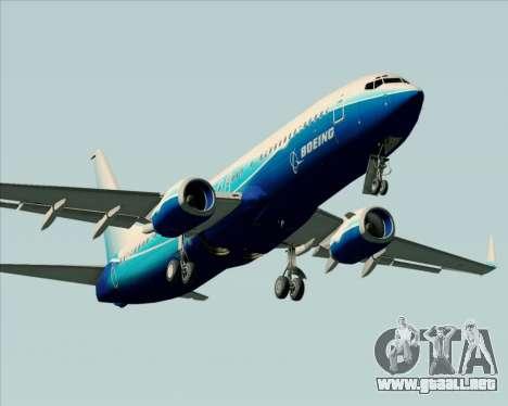 Boeing 737-800 House Colors para el motor de GTA San Andreas