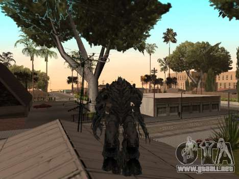 Transformers 3 Dark of the Moon Skin Pack para GTA San Andreas sexta pantalla