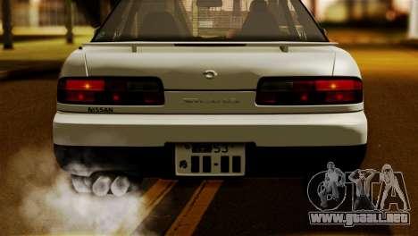 Nissan Silvia S13 1992 IVF para la visión correcta GTA San Andreas