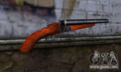 Sawnoff Shotgun para GTA San Andreas segunda pantalla