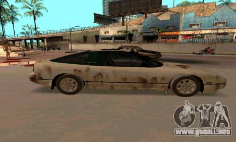 Nissan 240SX Rusted para GTA San Andreas left