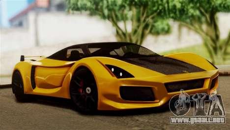 Ferrari Velocita 2013 SA Plate para GTA San Andreas