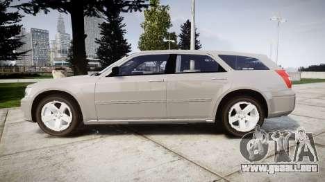 Dodge Magnum 2004 [ELS] Liberty County Sheriff para GTA 4 left