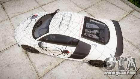 Audi R8 LMX 2015 [EPM] Cobweb para GTA 4 visión correcta