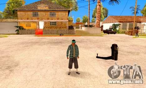 Varios Los Aztecas para GTA San Andreas quinta pantalla