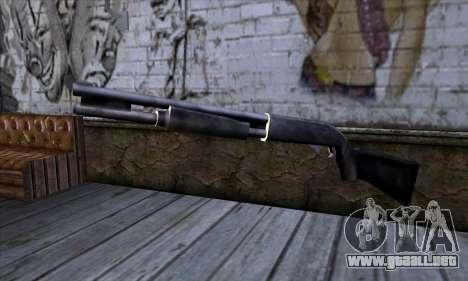 Chromegun v2 Habitual para GTA San Andreas