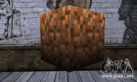 Bloque (Minecraft) v9 para GTA San Andreas segunda pantalla