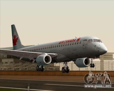 Embraer E-190 Air Canada para GTA San Andreas
