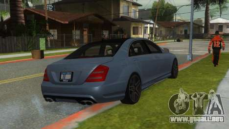 Mercedes-Benz S65 AMG V12 BITURBO para GTA San Andreas left
