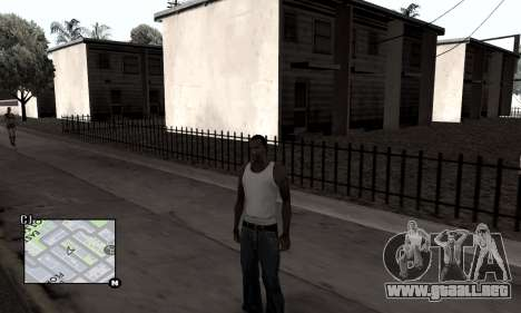 Winter Colormod para GTA San Andreas tercera pantalla