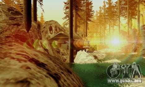 Pista de off-road 4.0 para GTA San Andreas tercera pantalla