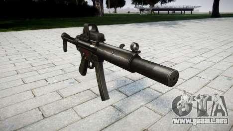 Pistola de MP5SD EOTHS FS para GTA 4