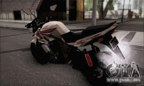 Honda Verza 150 para GTA San Andreas left
