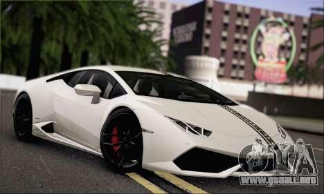 Lamborghini Huracan LP610-4 2015 para la vista superior GTA San Andreas
