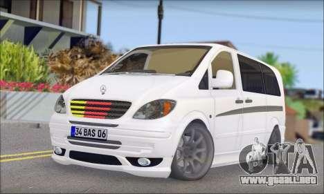 Mercedes-Benz Vito Vip para GTA San Andreas