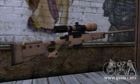 L11A3 Sniper Rifle para GTA San Andreas segunda pantalla