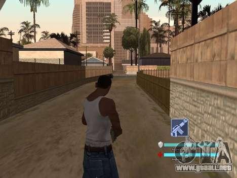 C-HUD OREAN para GTA San Andreas