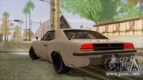 GTA 5 Vigero para GTA San Andreas left