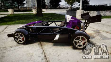 Ariel Atom V8 2010 [RIV] v1.1 FOUR C Motorsport para GTA 4 left