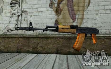 AKC74 Sin Tope para GTA San Andreas