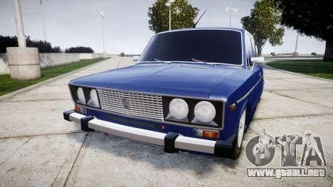 VAZ-2106 en el pneuma para GTA 4