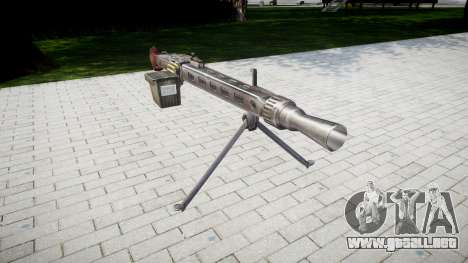 Alemán ametralladora MG3 icon3 para GTA 4