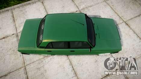 VAZ-2107 inferior para GTA 4 visión correcta