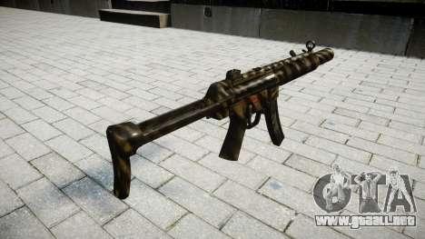Pistola de MP5SD NA FS para GTA 4 segundos de pantalla
