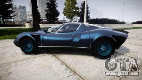 Alfa Romeo 33 Stradale para GTA 4 left