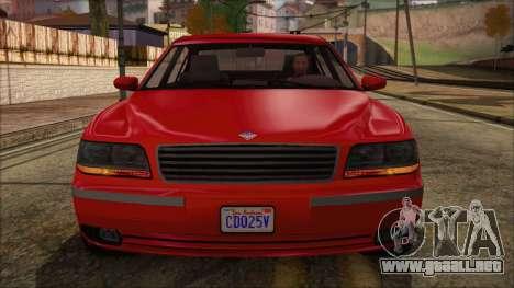 GTA 5 Ubermacht Oracle XS IVF para la visión correcta GTA San Andreas