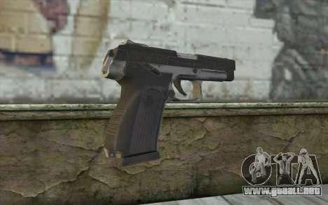 MP443 from COD: Ghosts para GTA San Andreas segunda pantalla