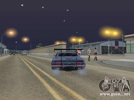 Chevrolet Camaro SS RedBull para GTA San Andreas vista posterior izquierda